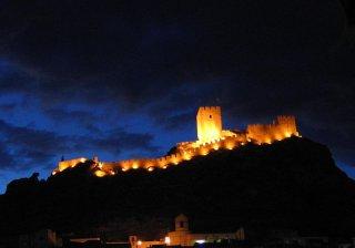 Замок Сакс в Испании