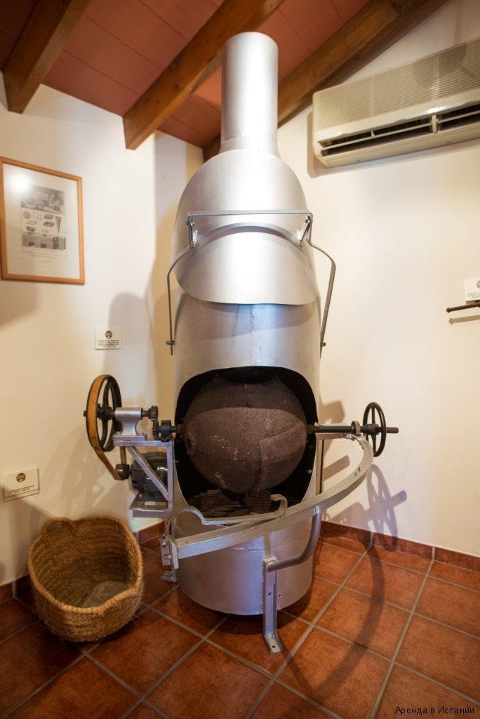 экспонат шоколадного музея в Испании