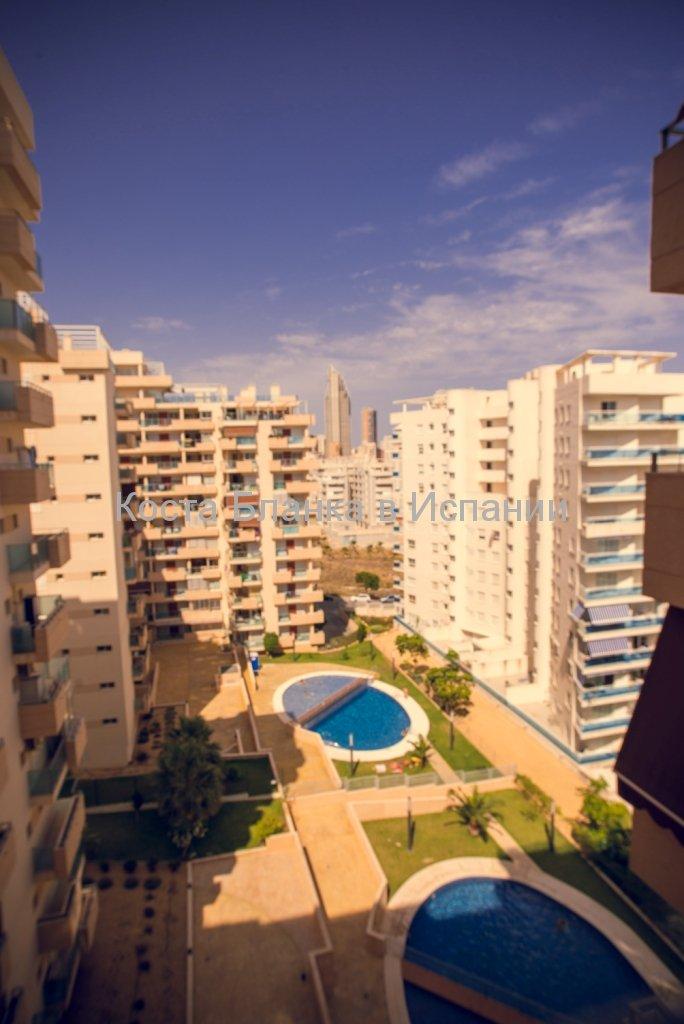 Апартаменты в Бенидорме на Коста Бланка