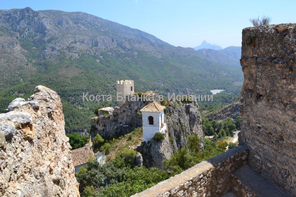 Гуадалест, башня арабской крепости VII века