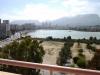 Вид на озеро Салинас в Кальпе на Коста Бланка
