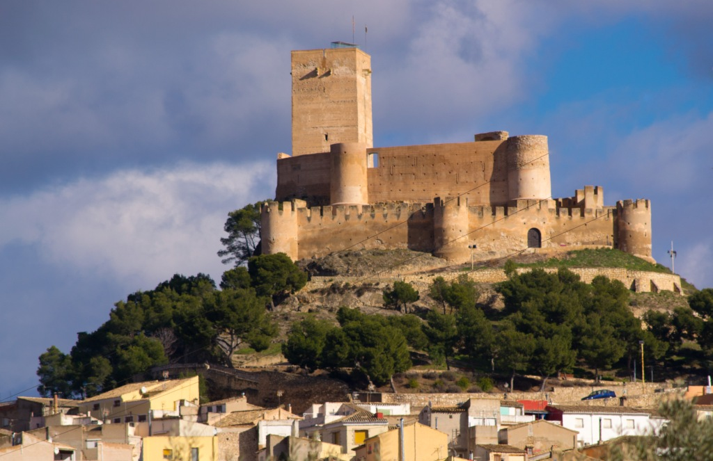 Замок Биар в Испании на Коста Бланка